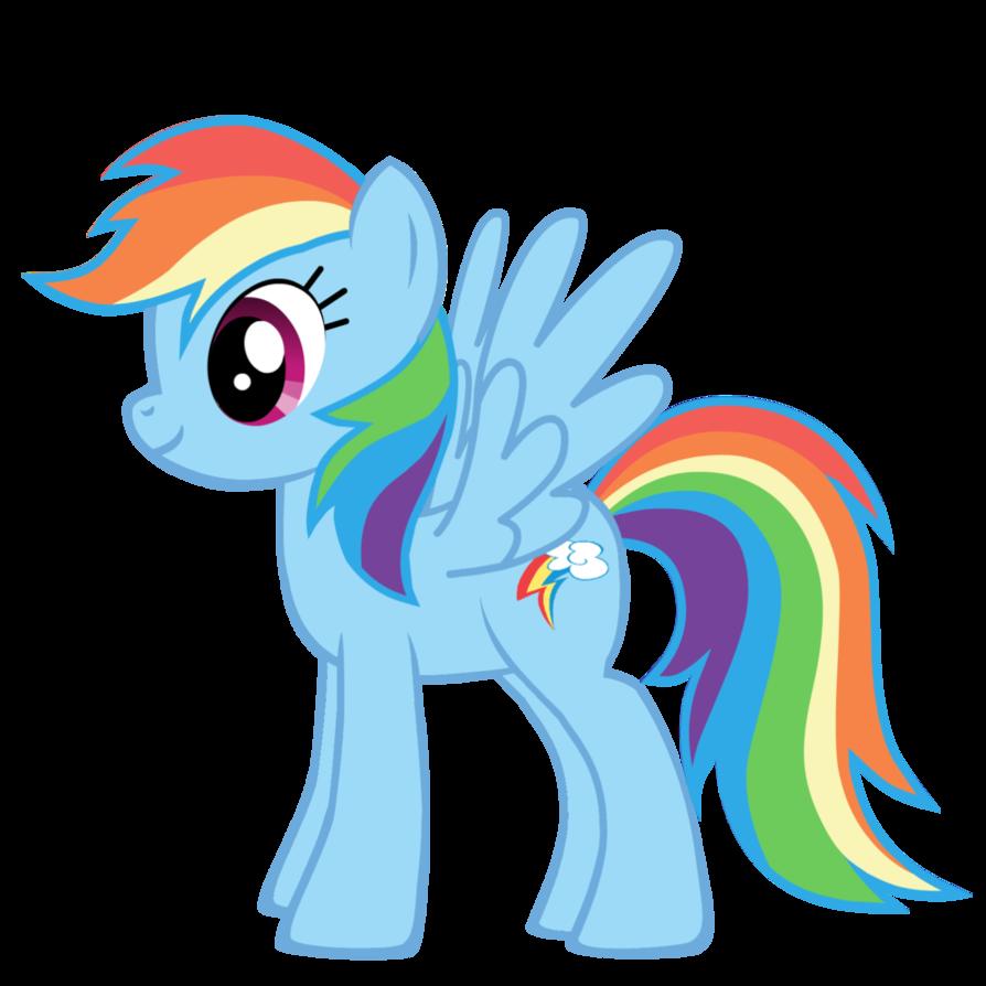Mi pequeo Pony Rainbow dash etiquetas Favor de aduana por