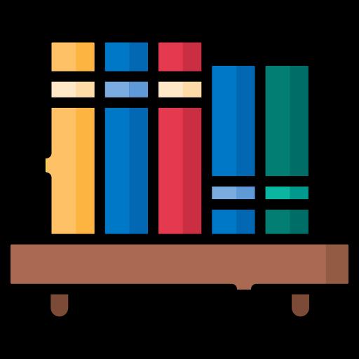 Bookshelf Free Vector Icons Designed By Freepik Book Icons Free Icons Phone Icon