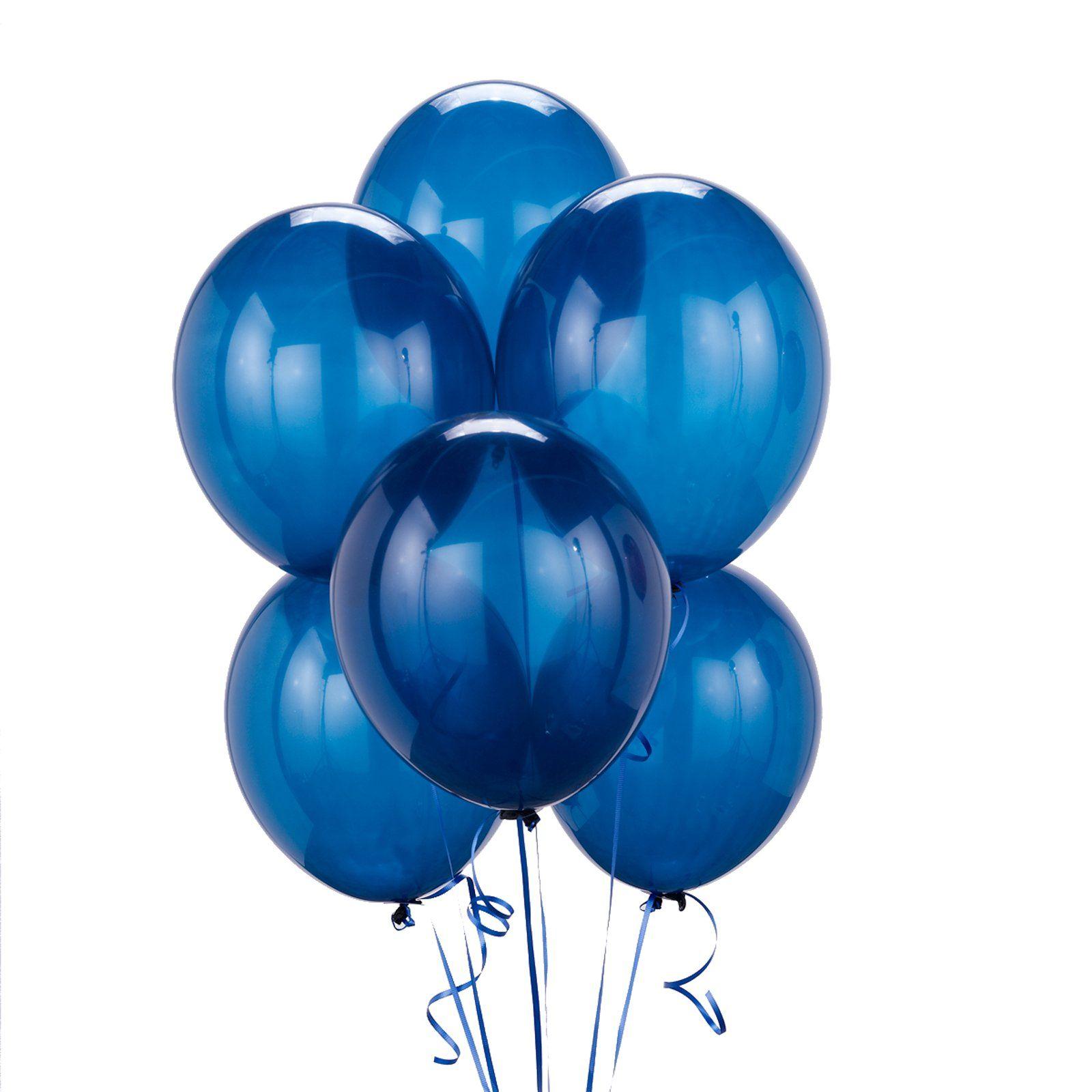 синие шары с днем рождения картинки любой другой