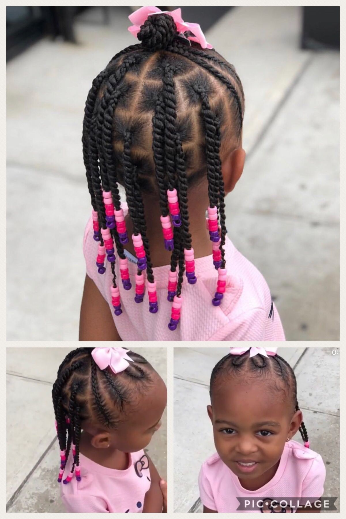 Beads And Twists In 2019 Girls Natural Hairstyles Natural