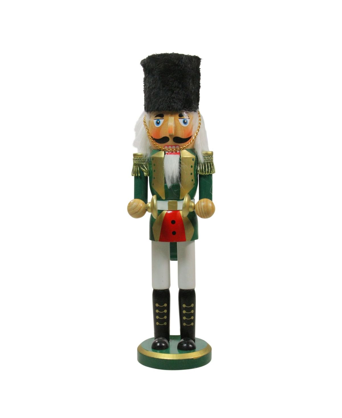 Add a new twist to your holiday decor with this Cymbalist Nutcracker. The perfect way to celebrate your Christmas holiday by displaying this Nutcracker on table tops mantles and desks. Give as a gift to a loved one or as a gift for yourself.