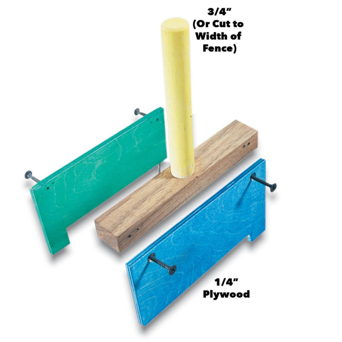 Fence Straddling Push Stick Table Saws Diy Table Saw
