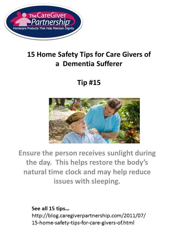 15 Home Safety Tips for Care Givers of Dementia Sufferer   Senior ...
