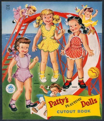 UNCUT-Pattys-Playtime-Dolls-3464-Merrill-1956-4891
