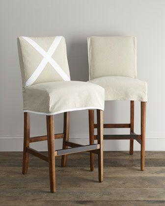 Vanguard Nikos Slipcover Barstools Slipcovers For Chairs Bar