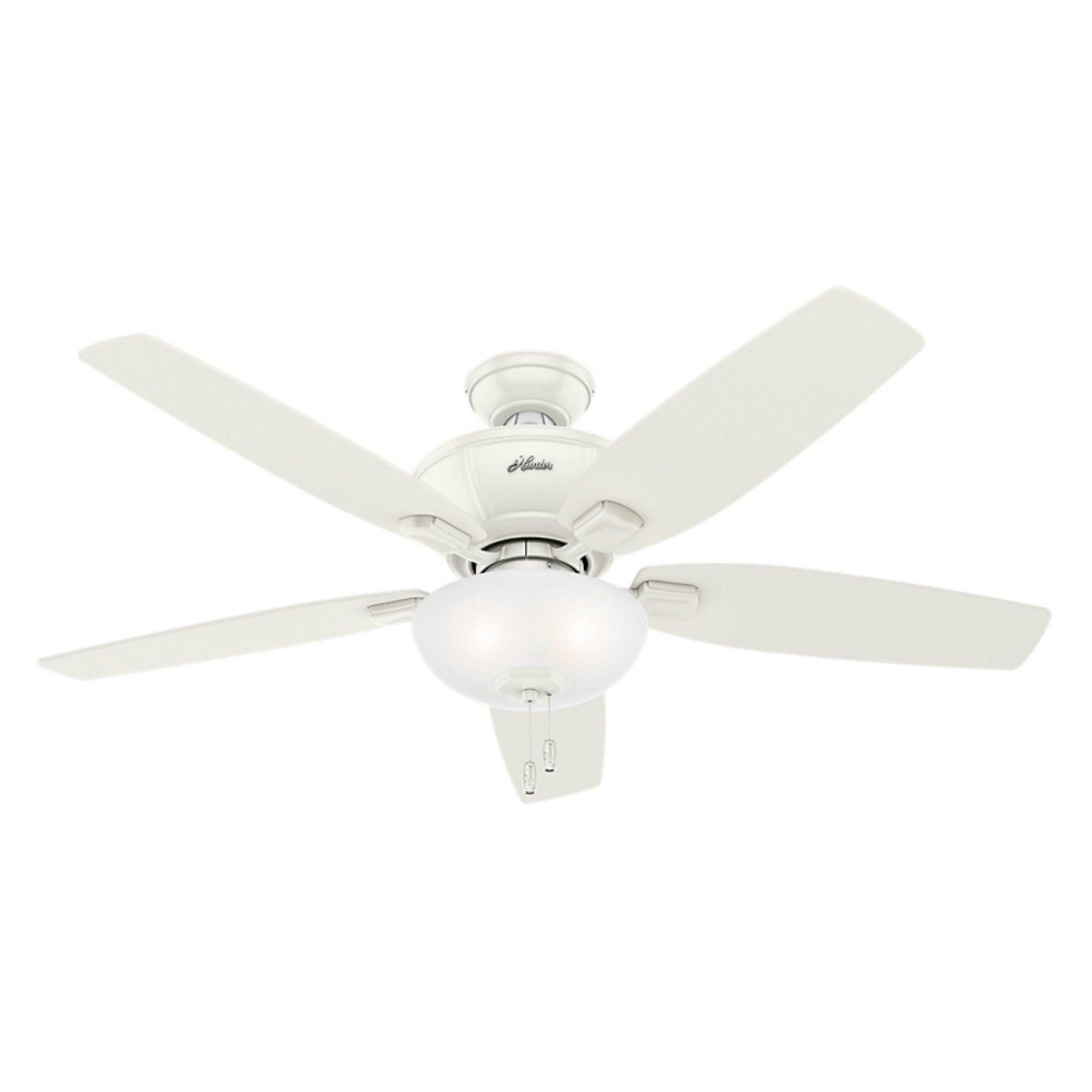 Hunter kenbridge in indoor ceiling fan with light