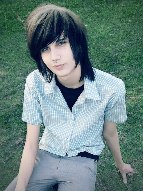 emo hair style. styles