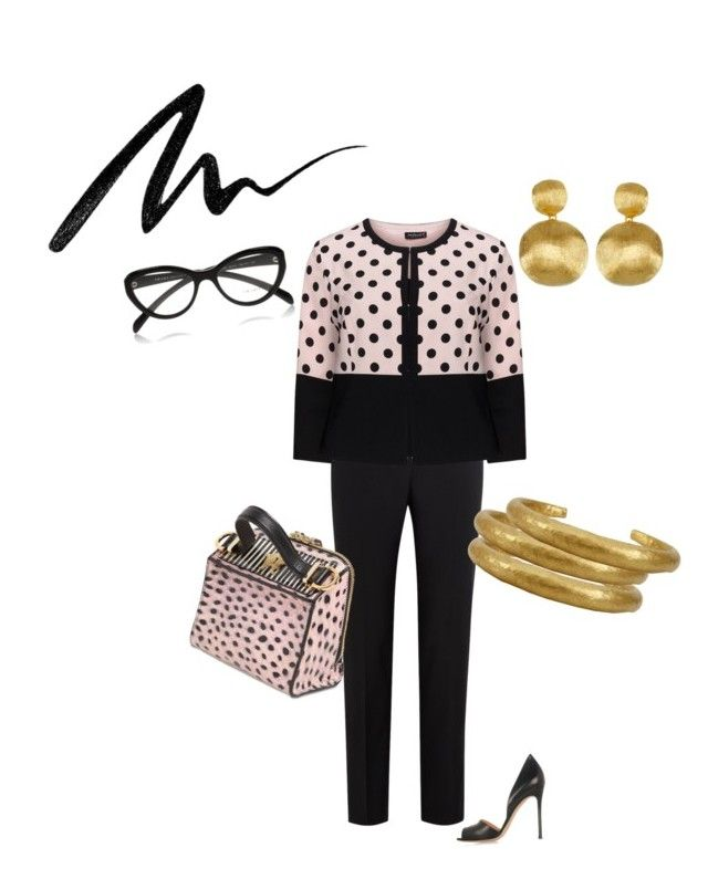 """Untitled #334"" by grownupfashionfun ❤ liked on Polyvore featuring Paul Smith Black Label, Hermann Lange, Gianvito Rossi, Giancarlo Petriglia, Marco Bicego, Yossi Harari, Prada, Eyeko, women's clothing and women"