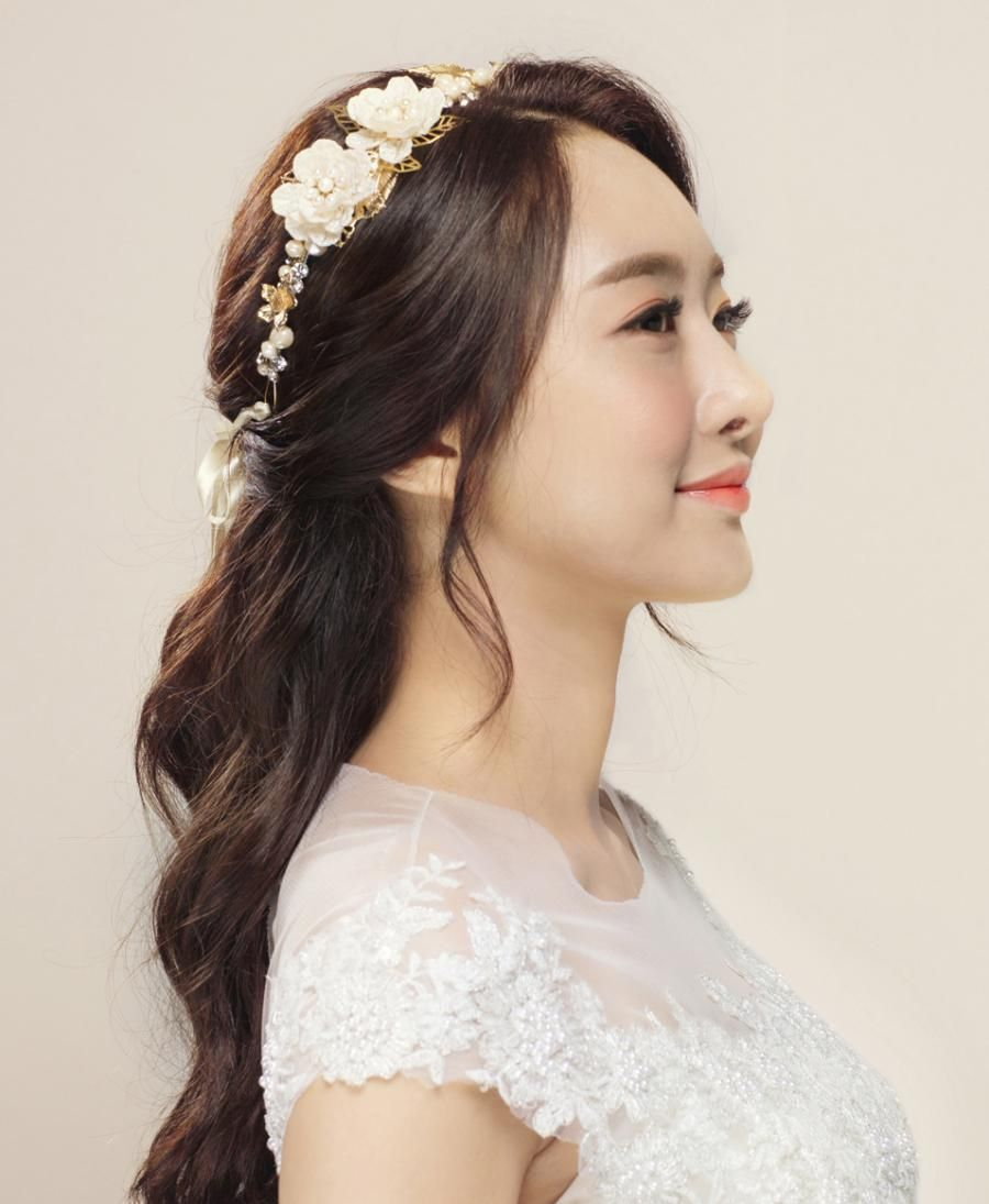 Oblige Korean Bridal Hair Makeup Korean Wedding Photography Korean Wedding Hair Indian Wedding Hairstyles Shot Hair Styles