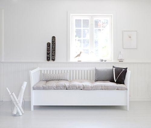 091111 Esszimmerbank 194 cm v Oliver Furniture weiß Einrichten - esszimmer mit bank einrichten