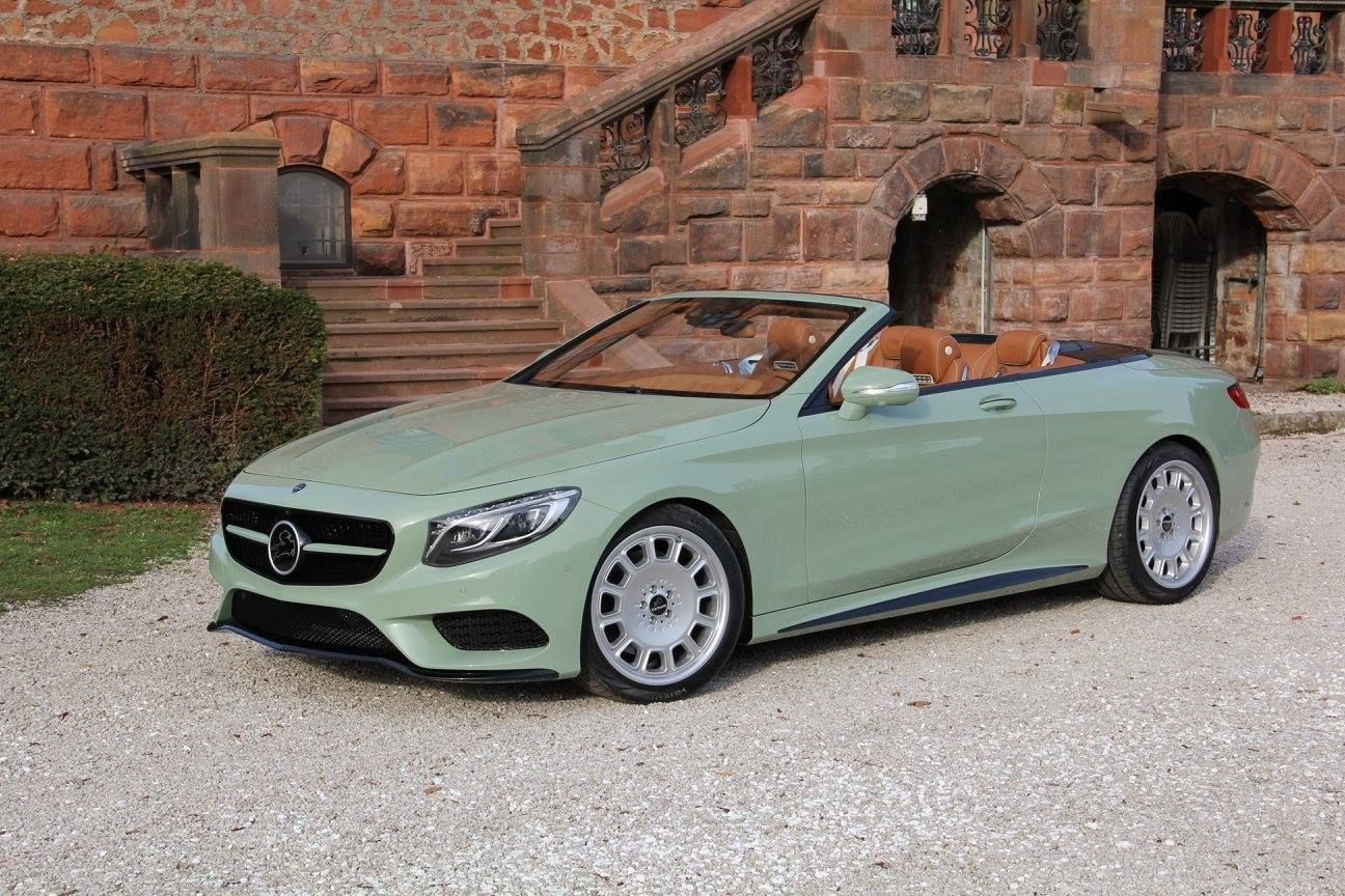 Carlsson Gives Merc S S Class Cabriolet A Minty Shade And Calls It Diospyros Carscoops Mercedes Benz S550 Mercedes Benz Cabriolets