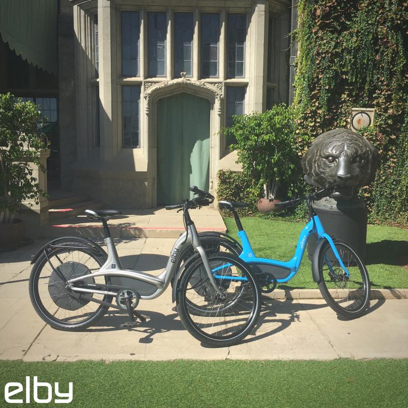 #BeverlyHills Looks Good On Elby. #ElbyBike #eBike