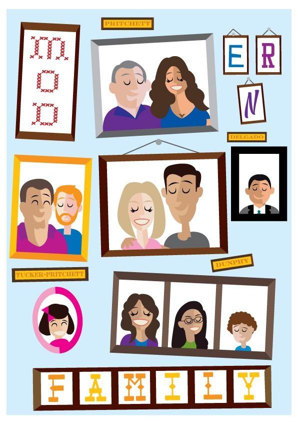 Modern Family By Phil Howell Modern Family Funny Modern Family Modern Family Tv Show