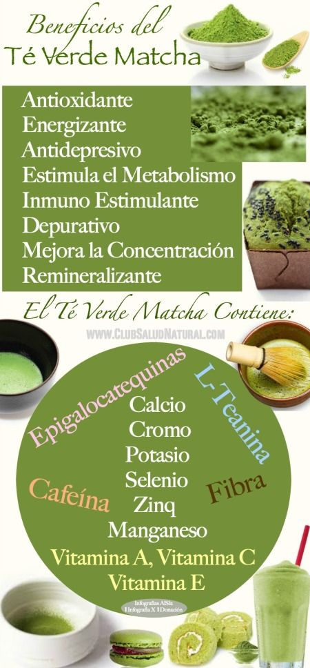 Beneficios del t verde matcha club salud natural el t for Te verde beneficios para la salud