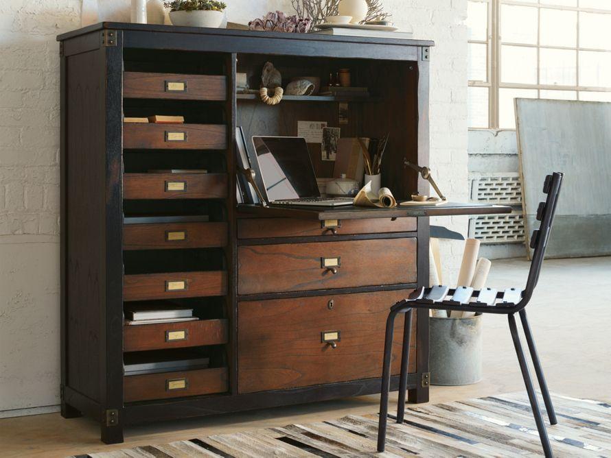 Telegraph Computer Cabinet Arhaus Furniture Our