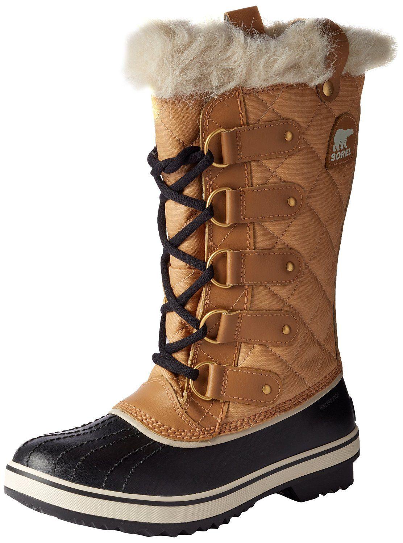 SOREL Tofino GLITTER Boots Womens Size