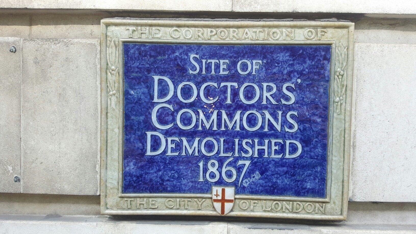 Doctors Commons.....