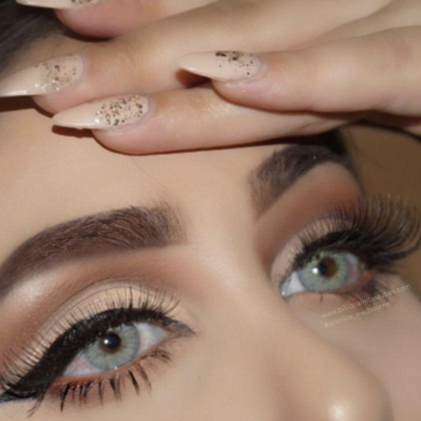 Beautiful Eye Makeup By Glamdbysarahhh Wearing Solotica Hidrocor