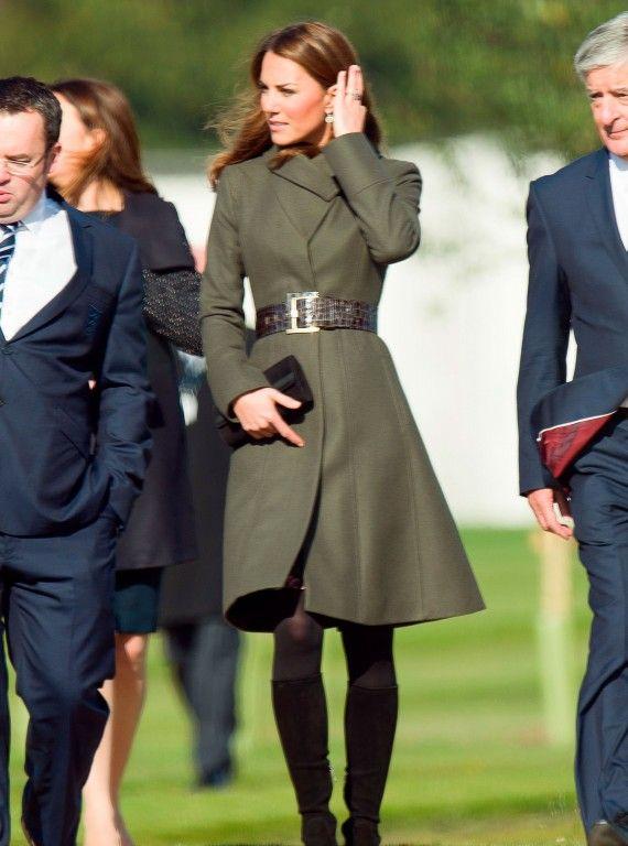 Kate Middleton Winter Coat Style