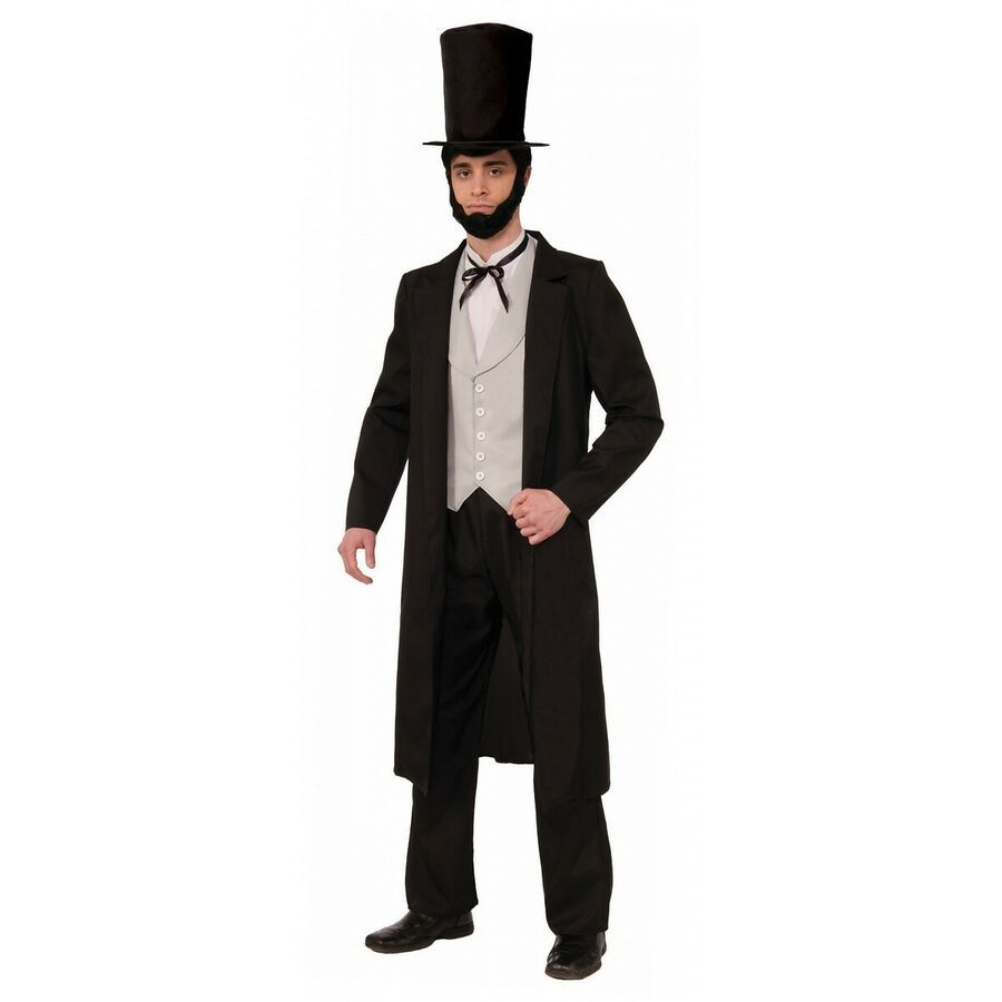 Abe Lincoln Costume Halloween Fancy Dress