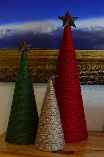 Tutorial Tuesday: Yarn Trees.