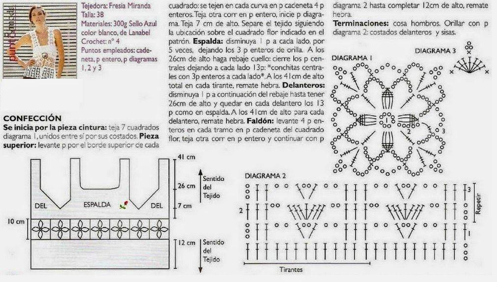 Fantástico Ganchillo Del Chaleco Del Patrón Libre Bosquejo - Ideas ...