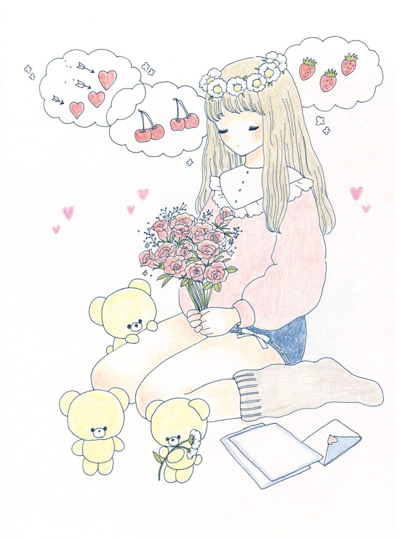 お花をもらうよりいちごが食べたい。お花をもらったことがあるのは卒業式だけです。今どき告白にお花を持参する人っているのかな〜