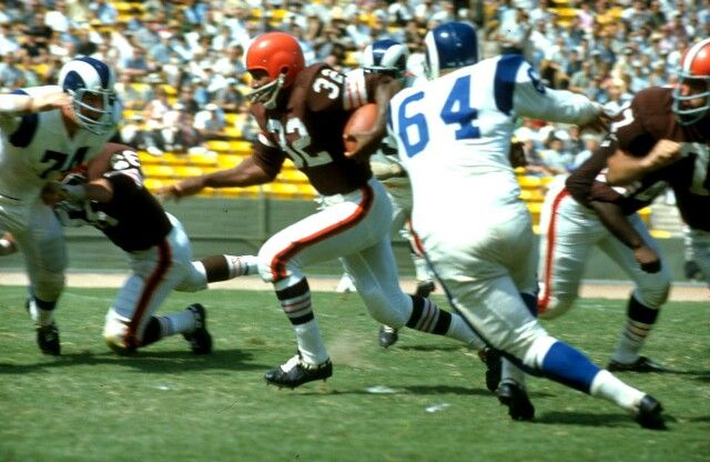 #32 Jim Brown