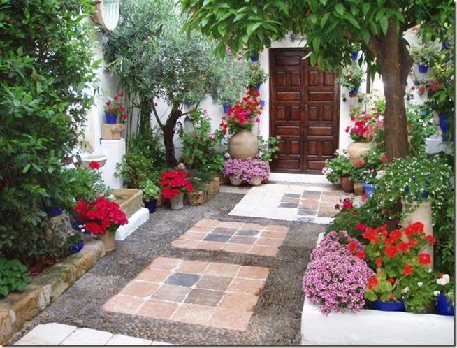 patios y jardines de casas ejemplos de casas con