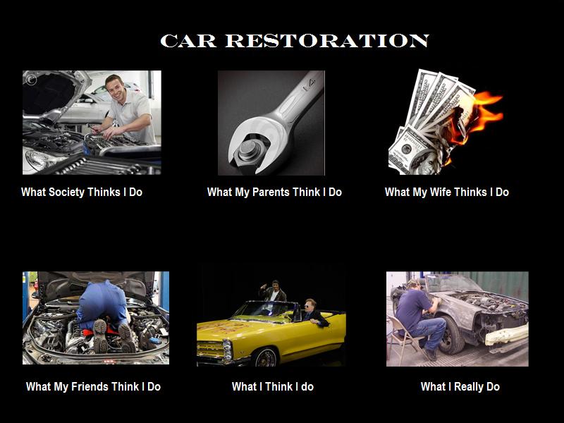 Car Restoration Car restoration, Mechanic girlfriend