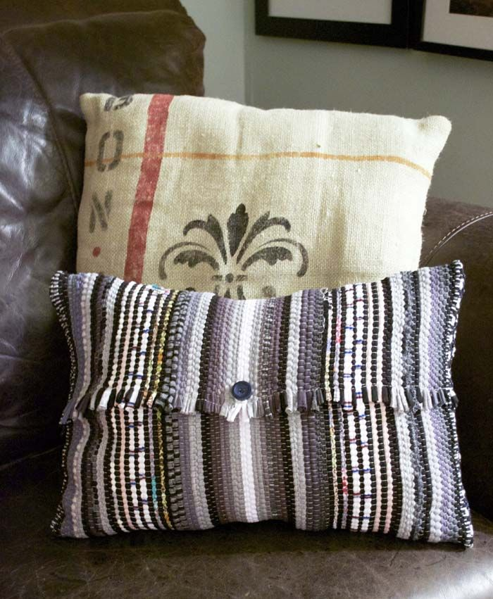 I Am So Excited About These Pillow Covers They Are Super Chic Simple To Striped Rugrag