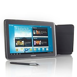 Samsung Galaxy Note 10 1 Android 4 0 Quad Core 32gb Tablet With App Software Bundle At Hsn Com Tablet Samsung Galaxy Note