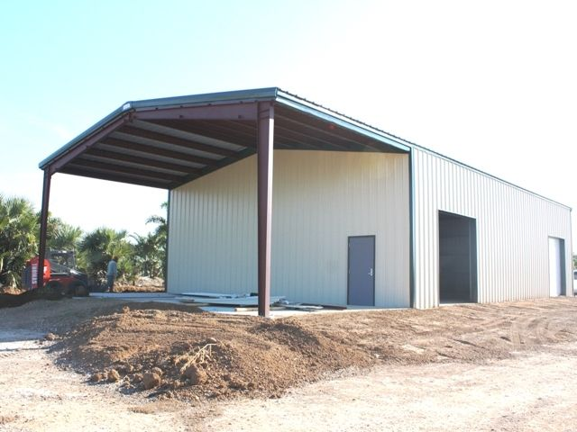 Buck Steel metal building canopies offer a great aesthetic as well as functional option to a & Buck Steel metal building canopies offer a great aesthetic as well ...