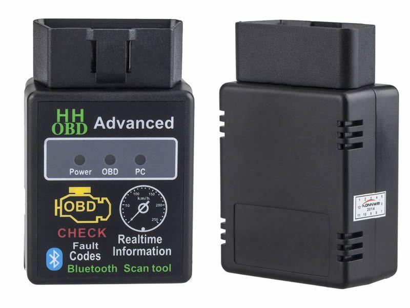 Hh Obd Mini Elm327 Bluetooth Obd2 Obdii Can Bus Car Diagnostic Interface Scanner Tool Obd Obd2 Scanner