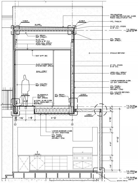 Architectural Drawings Of Bridges bridge wall section - construction drawing | ideas for the house