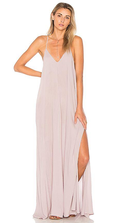 Slit Maxi Dress - Indah Rain Maxi in Lavender - Revolve