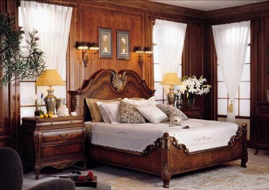 muebles clsicos para dormitorios camas de matrimonio armarios mesillas de noche baratos al