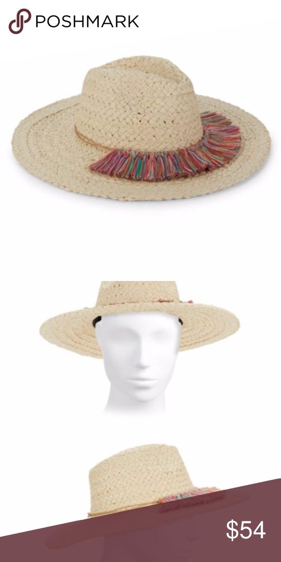 Hat Attack Woven Fringe Sun Hat Sun Hats Hats Woven