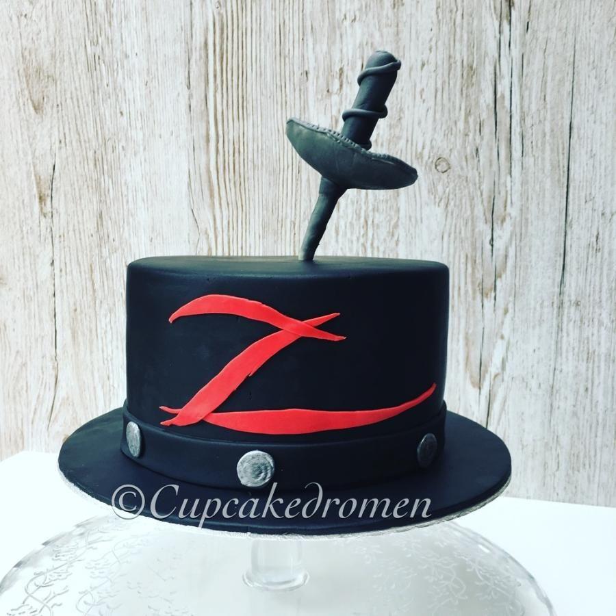 Zorro Cake By Cupcakedromen Wanda Cumpleanos Pinterest