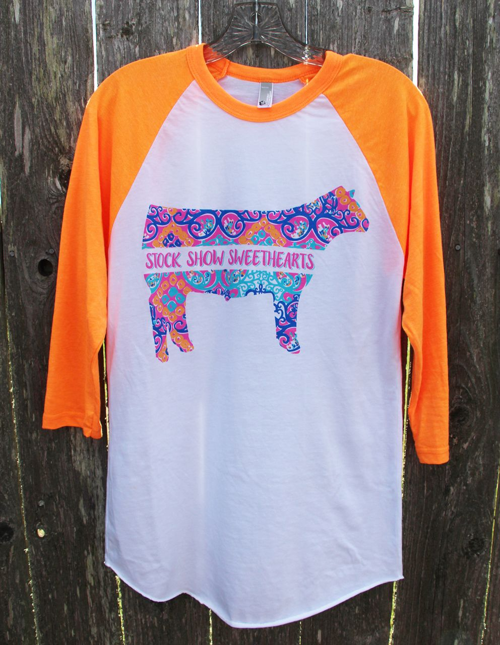 1b754ce4 Floral Show Steer Shirt - Stock Show Sweethearts | Stock Show ...