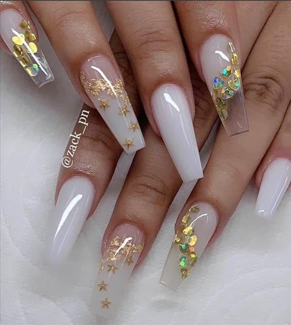 30 Alluring Acrylic Valentine S Nails Design To Show Your Love 2020 Page 5 Of 5 Latest Fashion Trends For Woman In 2020 Summer Acrylic Nails Cute Acrylic Nail Designs White Acrylic Nails