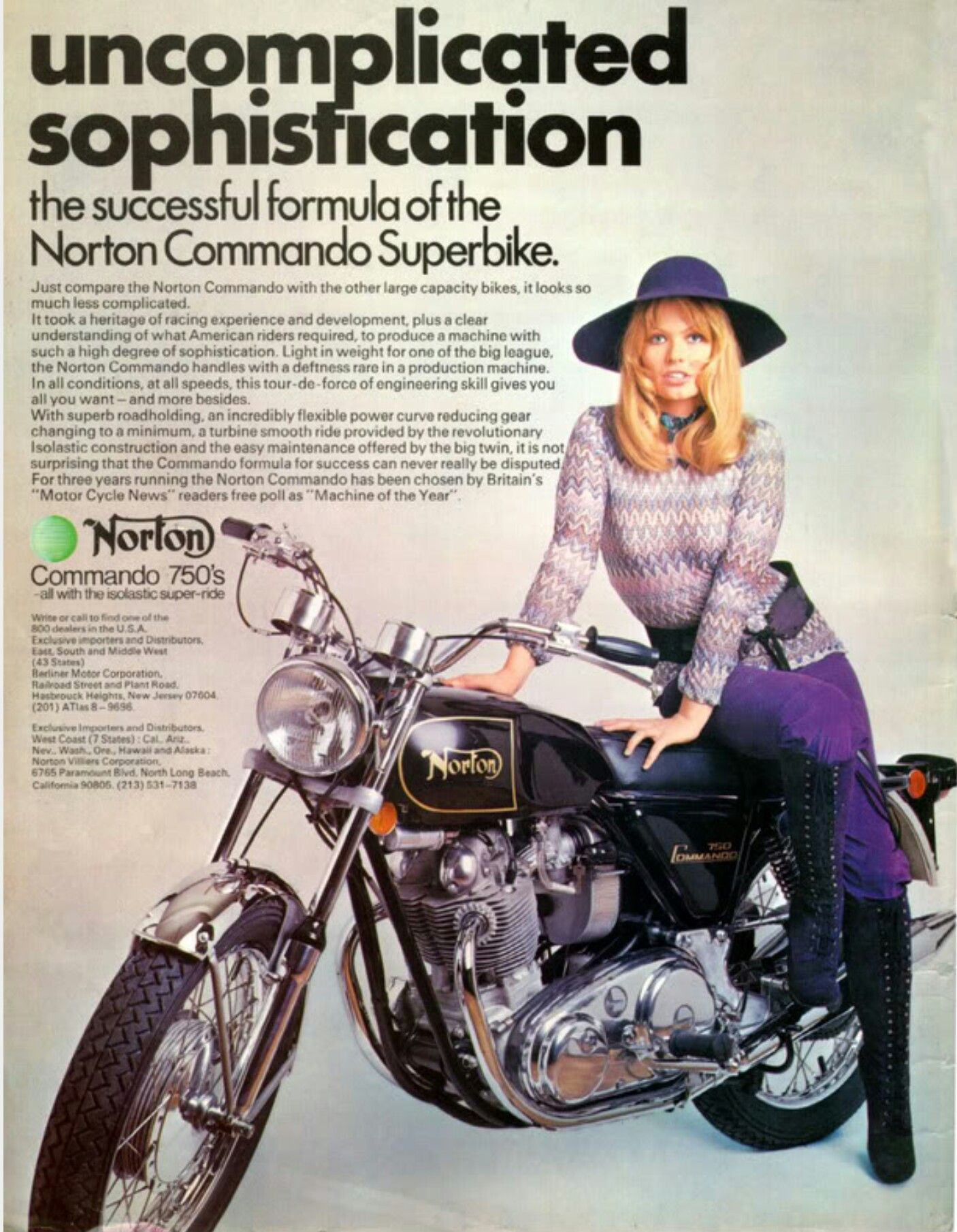 Pin by Monty MacLachlan on Old motorcycle ads   Norton motorcycle
