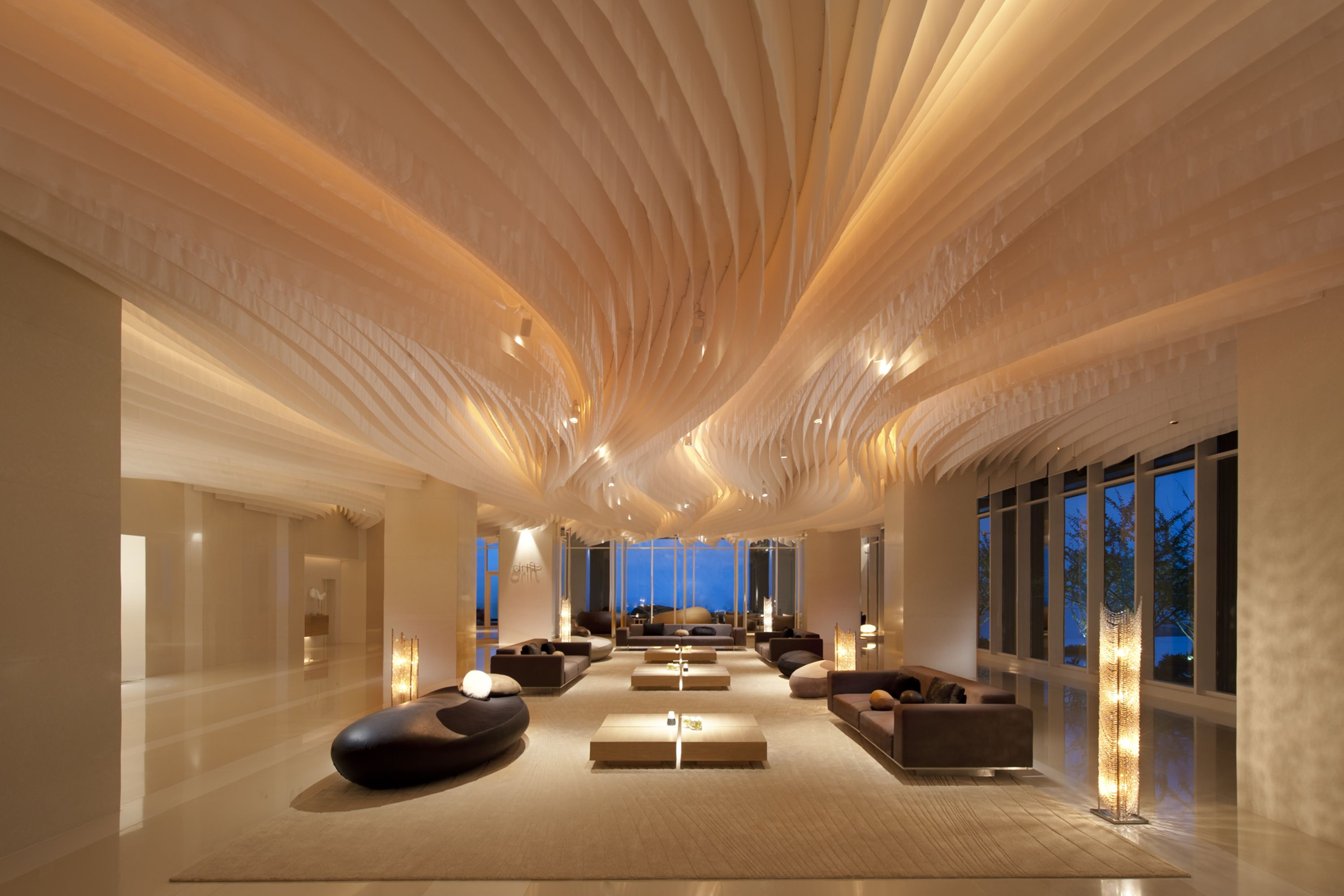 Modern And Futuristic Hotel Lobby Interior Design Interior Beautiful Hotel  Lobby