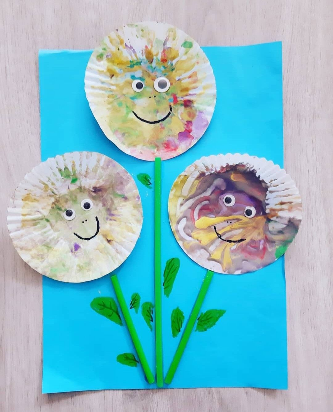 Happy Sunflower Craft In