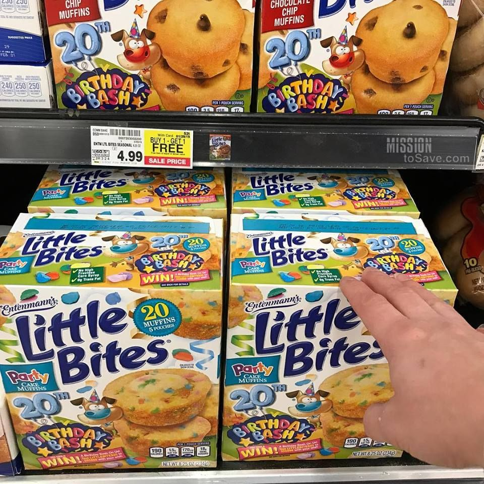 Do your kids love little bites snack muffins ad mine