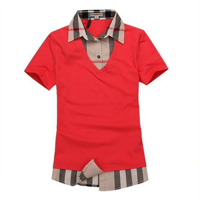 df04770dba9288 Polo Tee shirt burberry femme 0048  BURBERRY M00718  - €35.99   PAS CHERE  BURBERRY EN LIGINE!