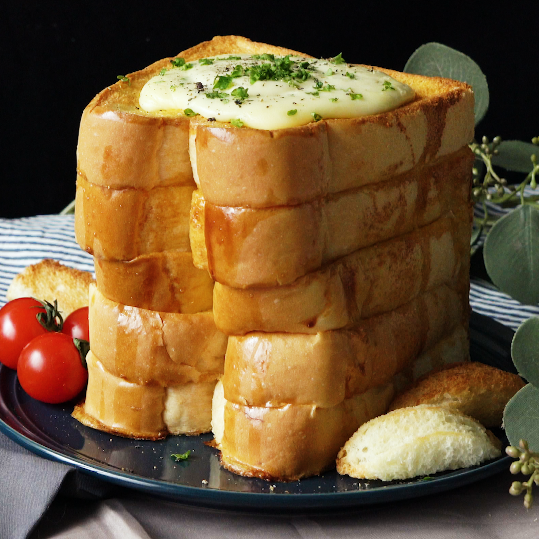 White Bread Cheese Fondue | Recipe in 2019 | Say Cheese ...