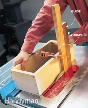 Table Saw Tips And Techniques Woodcockchuck Pinterest Table