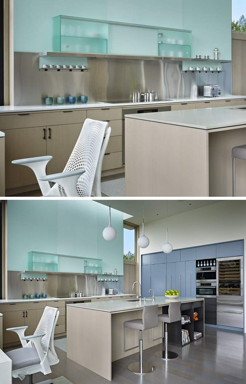 Kitchen Design Idea - Install A Stainless Steel Backsplash For A ...