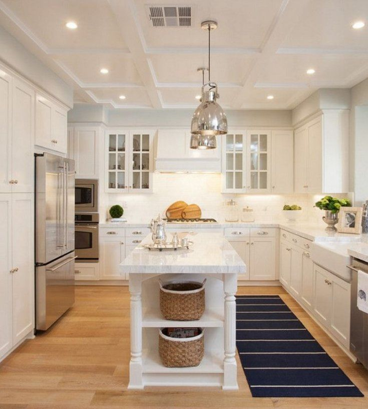 u shaped kitchen with long island narrow kitchen island interior design kitchen kitchen layout on u kitchen with island id=54085